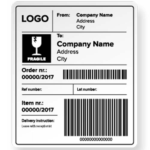 Shipping Labels Manufacturers, Exporters, Suppliers in India